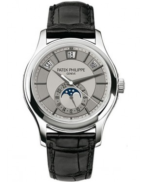 Patek Philippe Complications Calendrier Annuel Or Blanc 40mm Homme 5205G-001