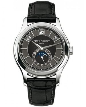 Patek Philippe Complications Calendrier Annuel Or Blanc Homme 5205G-010