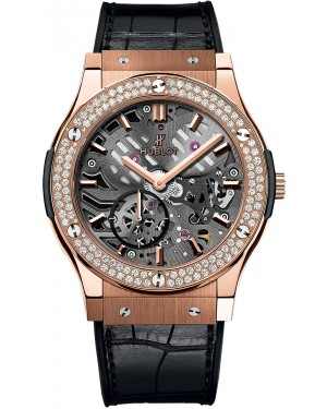 Hublot Classic Fusion Classico Ultra Thin Skeleton 42mm 545.OX.0180.LR.1104