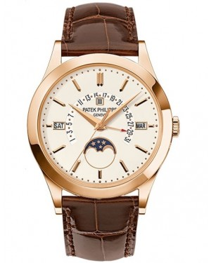 Patek Philippe Grand Complications Perpetual Calendar Or Rose Homme 5496R