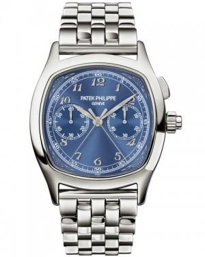 Patek Philippe Grand Complications Split Seconds Chronographe Bleu Homme 5950/1A-010
