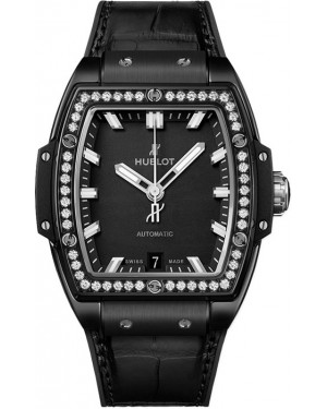 Hublot Spirit of Big Bang Black Magic Diamants Titane Montre Femme 665.CX.1170.LR.1204