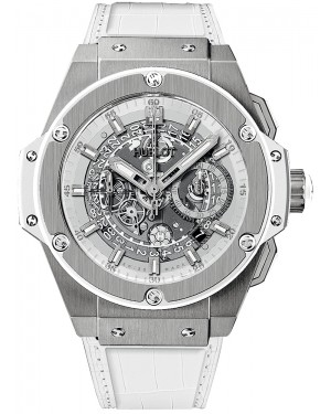 Hublot King Power 48mm Unico Titane Blanc Homme 701.NE.0127.GR
