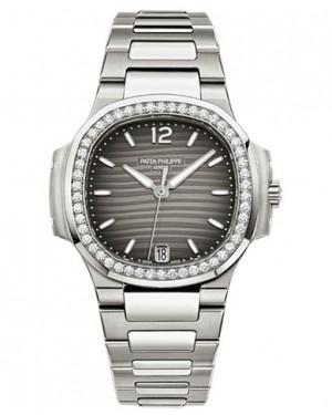 Replique Patek Philippe Nautilus Femme Acier Inoxydable Diamants 7018/1A-011