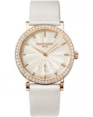 Patek Philippe Calatrava Femme Or Rose Diamants 7120R-001