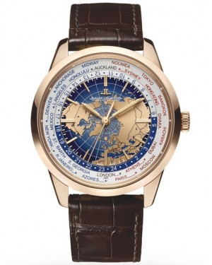 Jaeger-LeCoultre Geophysic Universal Time Or Rose Homme 8102520
