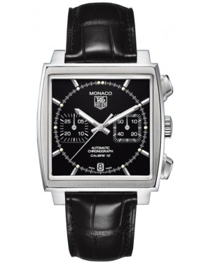 TAG Heuer Monaco Calibre 12 Automatique Chronographe 39 mm CAW2110.FC6177