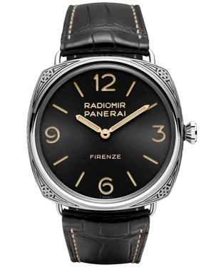 Panerai Radiomir Firenze 3 Jours Acciaio Engraved Homme PAM00604