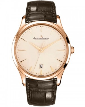 Jaeger LeCoultre Master Grande Ultra Thin Date Or Rose Homme Q1282510