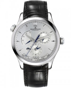 Jaeger LeCoultre Master Geographic Argent Homme Q1428421