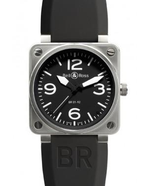 Bell & Ross BR01-92 Acier Inoxydable Noir Homme