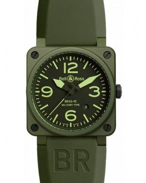 Bell & Ross BR03-92 Military Ceramique Homme