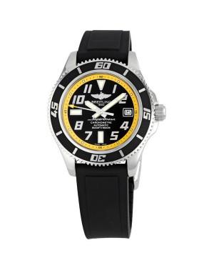 Breitling Superocean Noir Cadran jaune Hommes A1736402-BA32BKPD