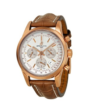 Breitling Transocean Chronographe Automatique Or rose Hommes RB015212-G738BRLT