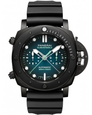 Panerai Submersible Guillaume Néry Edition 47mm Titane Bleu Homme PAM00983