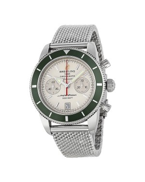 Breitling Superocean Heritage Chronographe Cadran Blanc Hommes A2337036-G753SS