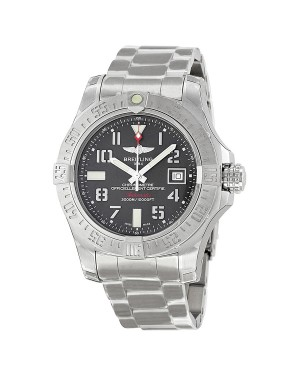 Breitling Avenger II Seawolf Gris Cadran Acier inoxydable Automatique Hommes A1733110-F563SS