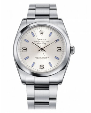 Rolex Air-King Domed Lunette Argent Cadran114200 SBLIO