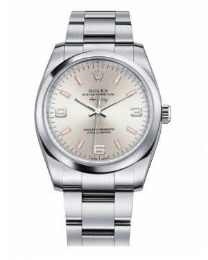 Rolex Air-King Domed Lunette Argent Cadran114200 SPIO