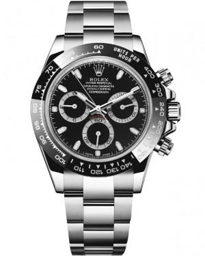 Rolex Daytona Noir Cadran Chronographe Montre Homme 116500LN