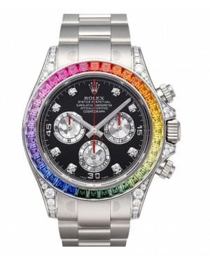 Rolex Daytona Arc-en-ciel  Noir Cadran116599 RBOW