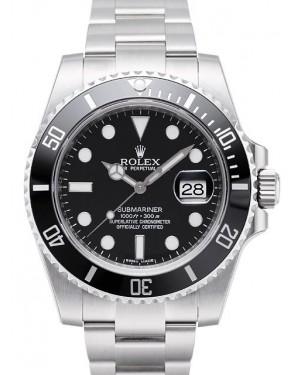 Rolex Submariner Date Noir Cadran116610LN