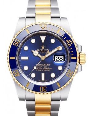 Rolex Submariner Acier Et Or Bleu Cadran116613LB