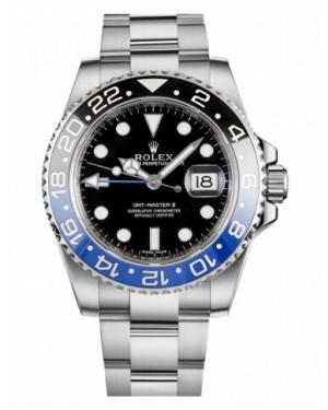 Rolex GMT Master II Acier Inoxydable Noir Cadran116710 BLNR