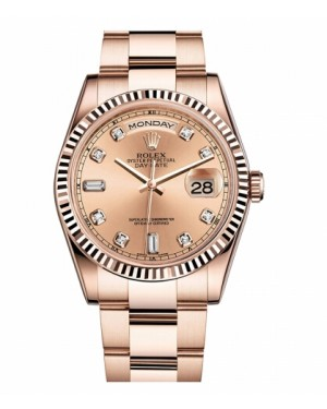 Rolex Day Date Rose Or Rose champagne Cadran118235 CHDO