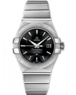 Omega Constellation 31mm Constellation Brushed Co-Axial Chronometer Cadran Noir Dames 123.10.31.20.01.001
