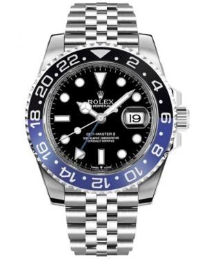 Rolex GMT Master II 126710BLNR Lunette Bleu Noir