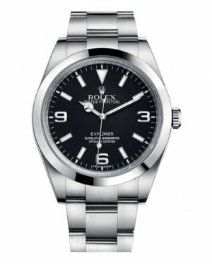 Rolex Explorer Acier Inoxydable Noir Cadran214270