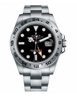 Rolex Explorer II Acier Inoxydable Noir Cadran 216570 BK