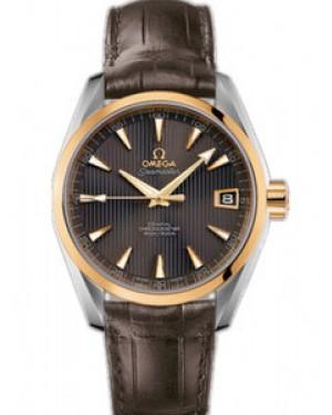 Omega Seamaster Aqua Terra Mid Size 38.5mm Automatique Chronometer Hommes 231.23.39.21.06.002