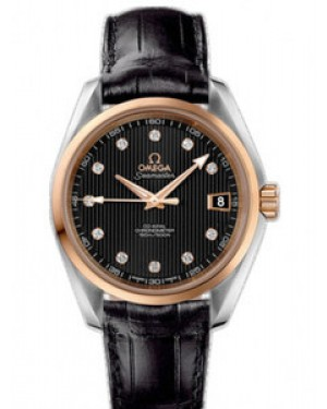 Omega Seamaster Aqua Terra Mid Size 38.5mm Automatique Chronometer Dames 231.23.39.21.51.001