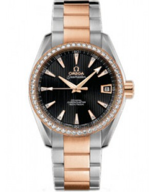 Omega Seamaster Aqua Terra 38.5mm Automatique Chronometer Dames 231.25.39.21.51.001