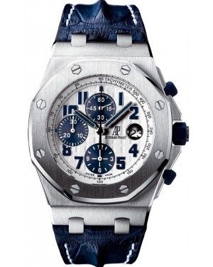 Audemars Piguet Royal Oak Offshore Chronographe 42mm NAVY Homme 26170ST.OO.D305CR.01
