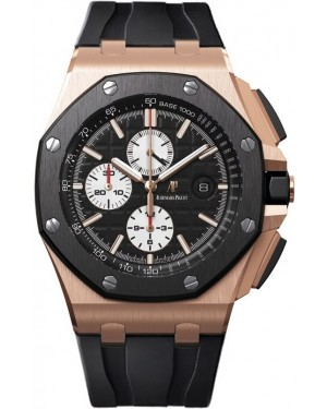 Audemars Piguet Royal Oak Offshore Diver Or Rose Chronographe Homme 26401RO.OO.A002CA.01