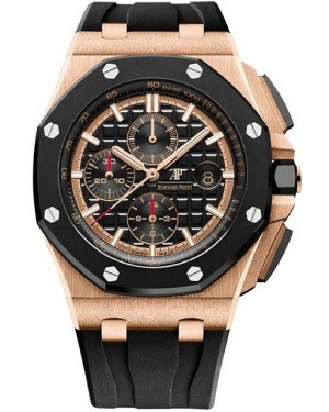 Audemars Piguet Royal Oak Offshore Chronographe Or Rose Homme 26401RO.OO.A002CA.02