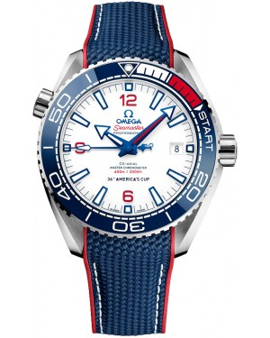 Omega Seamaster Planet Ocean 600m Montre Acier 36th AMERICA'S CUP 215.32.43.21.04.001