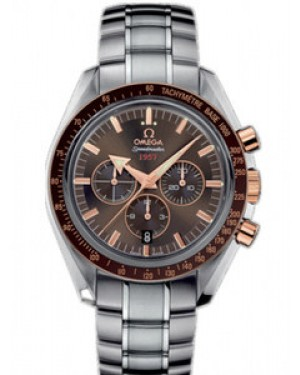 Omega Speedmaster Broad Arrow 42mm Automatique Cadran Brun Hommes 321.90.42.50.13.002