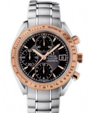 Omega Speedmaster 40mm Automatique Chronographe Date Cadran Noir Hommes 323.21.40.40.01.001