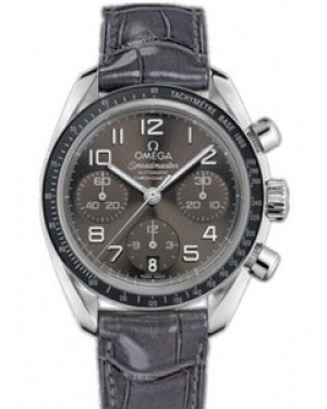 Omega Speedmaster 38mm Automatique Chronometer Cadran Gris Hommes 324.33.38.40.06.001