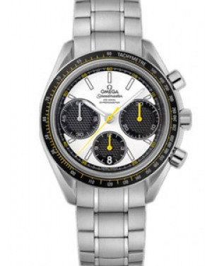 Omega Speedmaster 40mm Automatique Chronometer Racing Blanc Dial Hommes 326.30.40.50.04.001