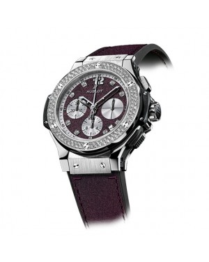 Replique Montre Hublot Big Bang Purple Jeans Diamants Homme 341.SX.2790.NR.1104.JEANS14