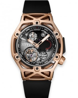 Hublot Techframe Ferrari Tourbillon Chronographe Carbone Homme 408.QU.0123.RX