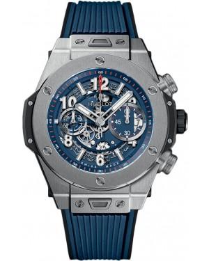 Hublot Big Bang Unico 45 Titane Bleu Homme 411.NX.5179.RX
