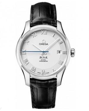Omega De Ville Chronometre Argent Cadran Montre Homme 431.13.41.21.02.001