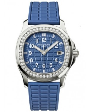 Patek Philippe Aquanaut Bleu Diamants Quartz Femme 5067A-022