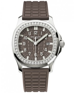 Patek Philippe Aquanaut Marron Diamants Quartz Femme 5067A-023